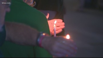 Victims of Santa Fe shooting remembered in candlelight vigil