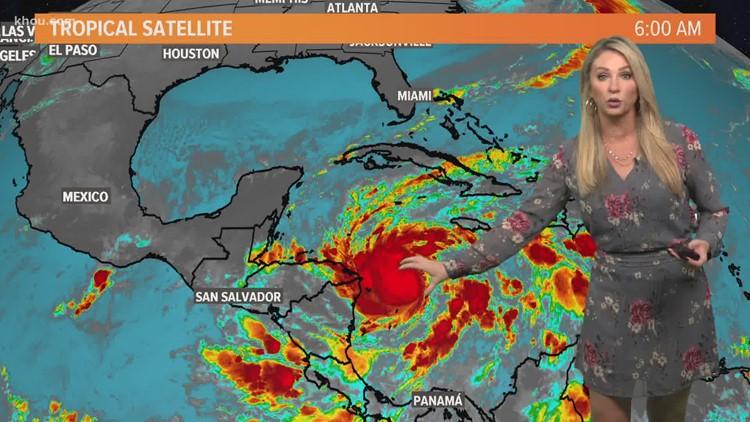 Hurricane Eta update for 5 a.m. Monday, Nov. 2: Landfall expected in Nicaragua tomorrow