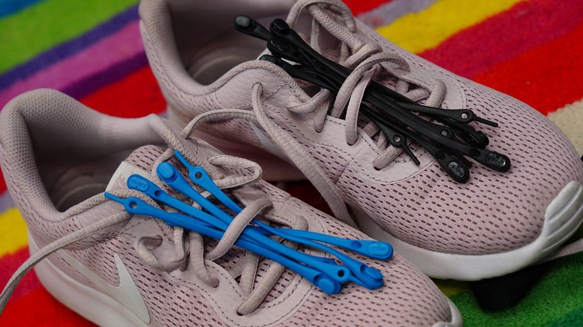 Move over shoe strings, we're trying the Hickies lacing system