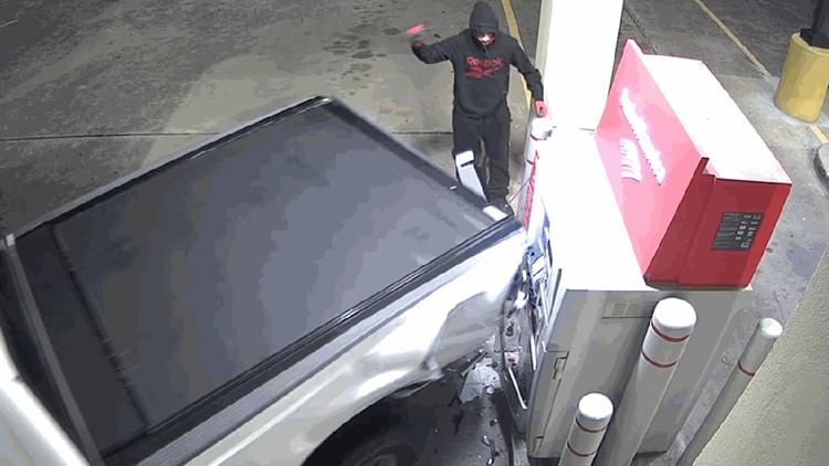 ATM theft fail