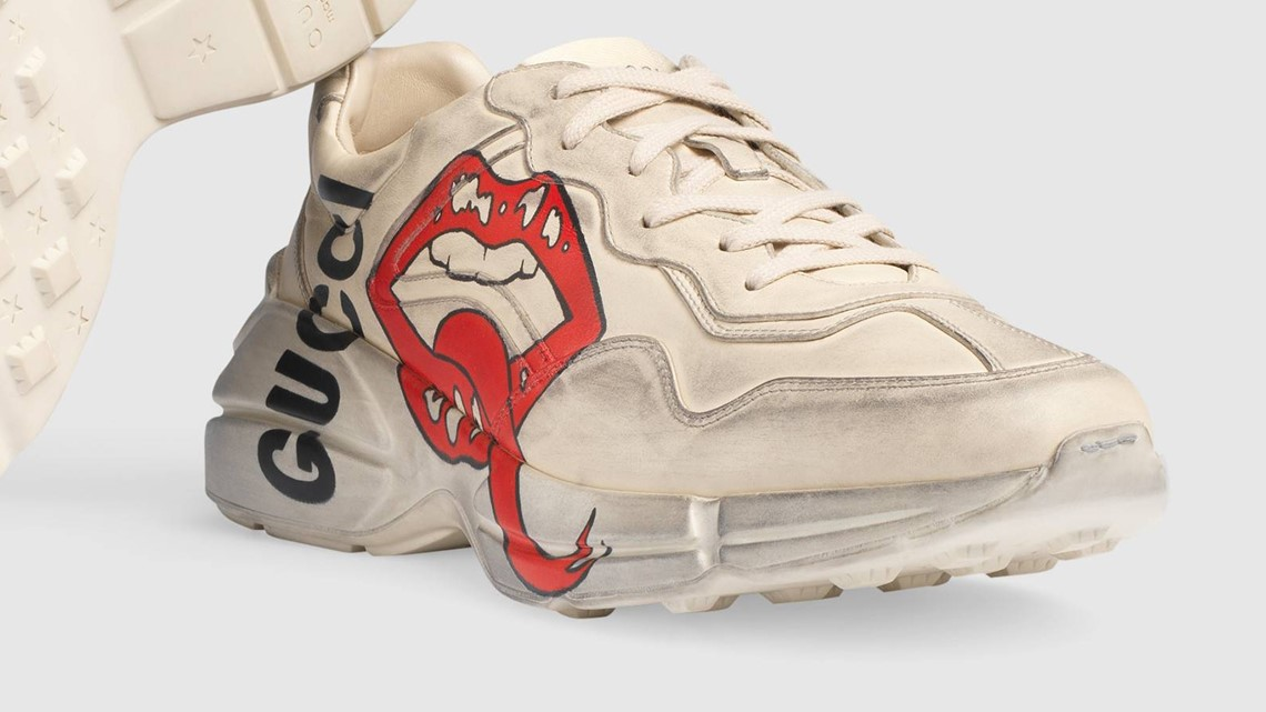 Gucci's $870 dirty sneakers come with