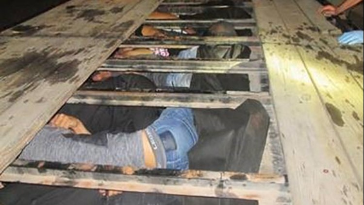 'They're humans, not cargo!' TX Border patrol agents stop 'life-threatening' smuggling attempt