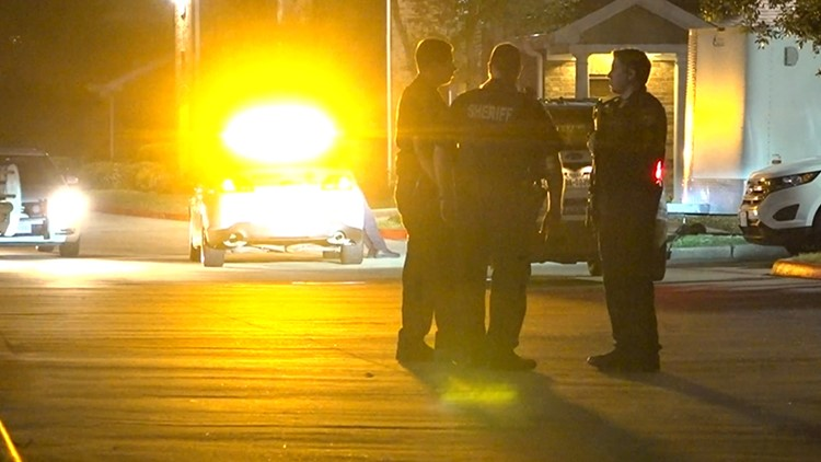 The incident happened late Tuesday night in the 1500 block of Katy Gap Road in the Katy area