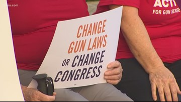 'Moms Demand Action' rally at Houston City Hall for changes to gun laws