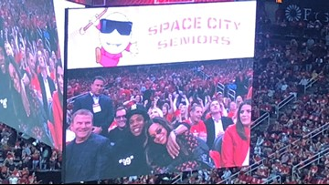 Beyoncé, Emilia Clarke among celebrities at Rockets-Warriors Game 6