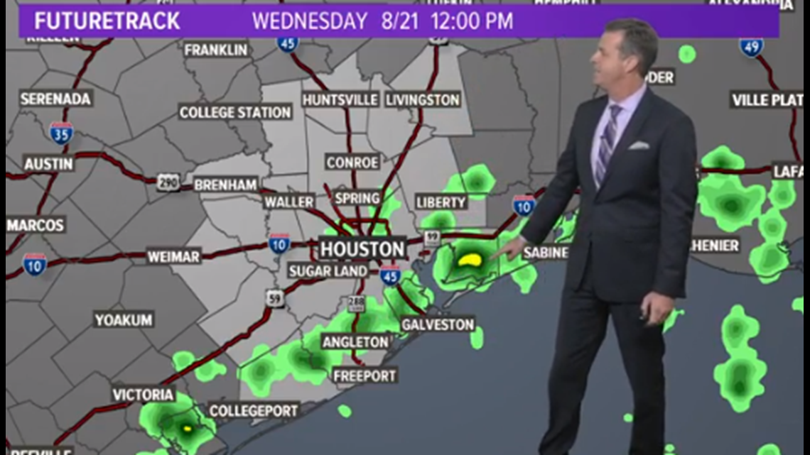 Houston Forecast: Another Round of Storms on Wednesday