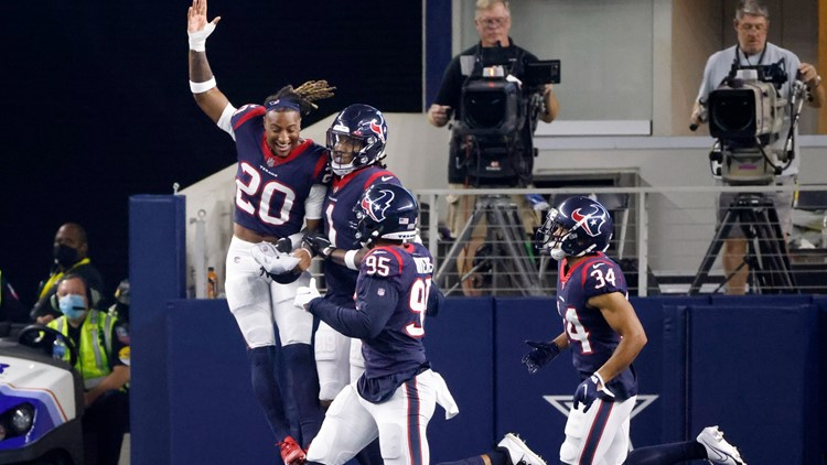 Texans stay perfect in the preseason with win over in-state rival Dallas