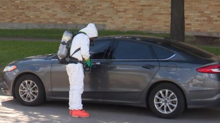 A Harris County Precinct 5 deputy received medical treatment after coming into contact with a flyer now being tested for fentanyl.