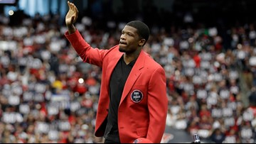 Andre Johnson is returning to the Texans
