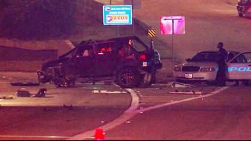 1 killed when Jeep rolls on Katy Freeway
