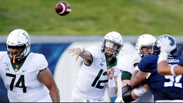 Brewer throws for 303 yards, TD in Baylor's 21-13 win