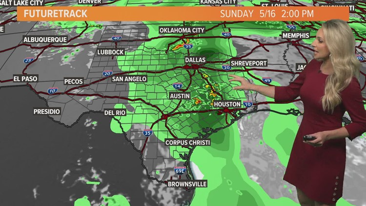 Houston Forecast: Beautiful today, plenty of rain on the way next week