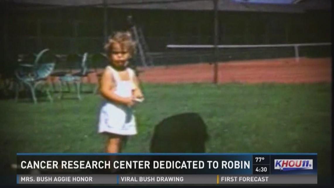 MD Anderson clinic named for Robin Bush   khou.com