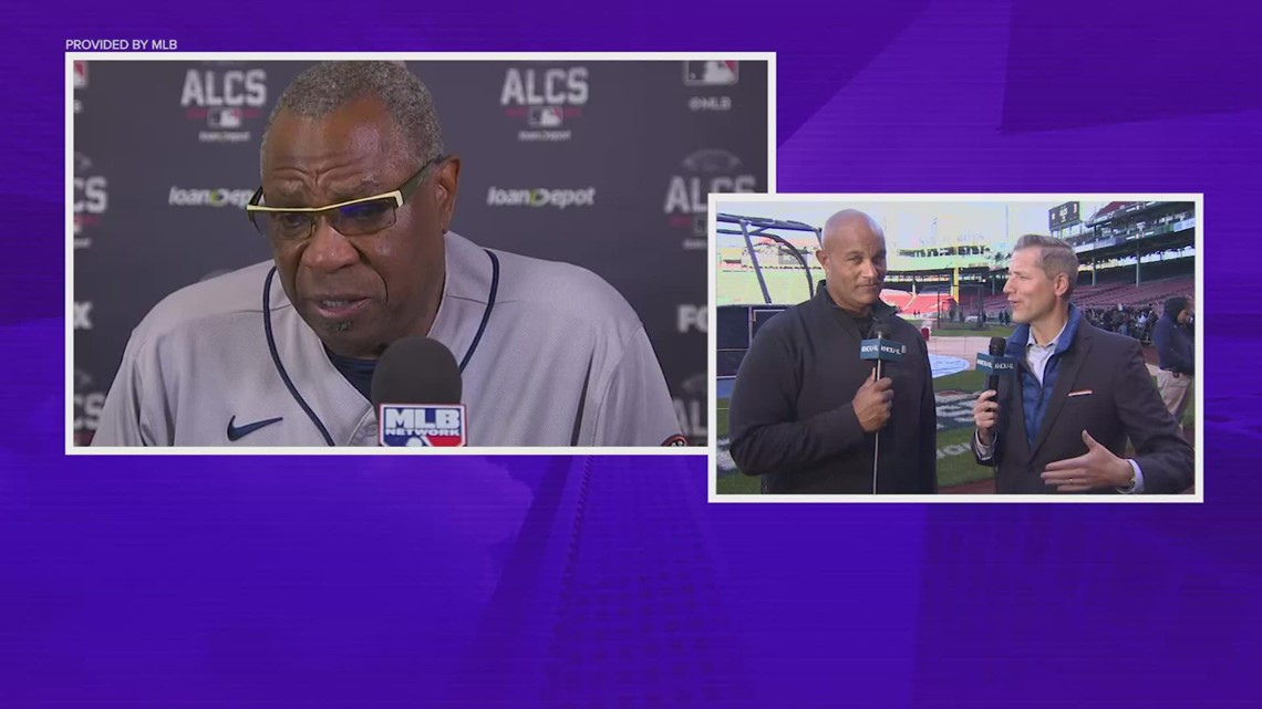 'Groundhog Day' for Astros in Game 3, but manager Dusty Baker says to 'flush it' before Game 4