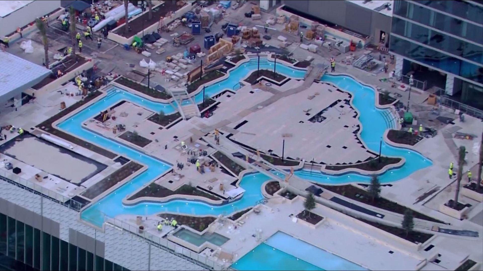 Houston S Texas Shaped Lazy River Pool In Running To Be Coolest Spot On The Planet Khou Com