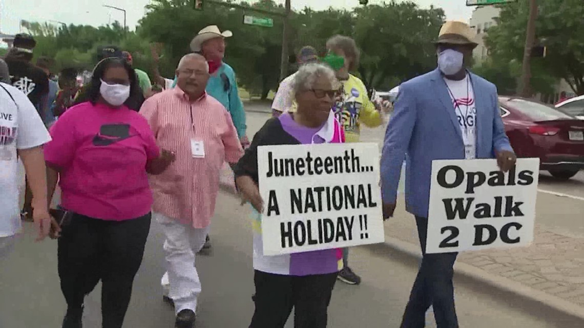 'I just haven't given up' | 94-year-old 'Grandmother of Juneteenth' helped lead fight for national holiday
