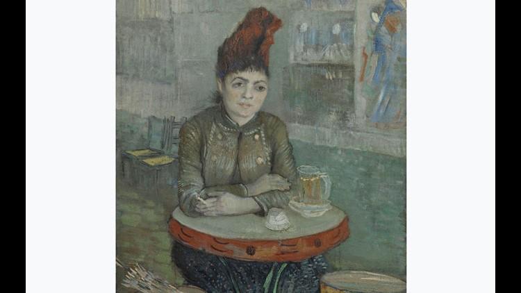 In the Café Agostina Segatori in Le Tambourin