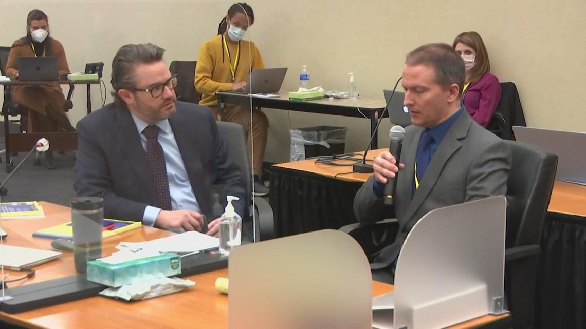Defense rests: Testimony ends in Derek Chauvin murder trial; closing arguments set for Monday