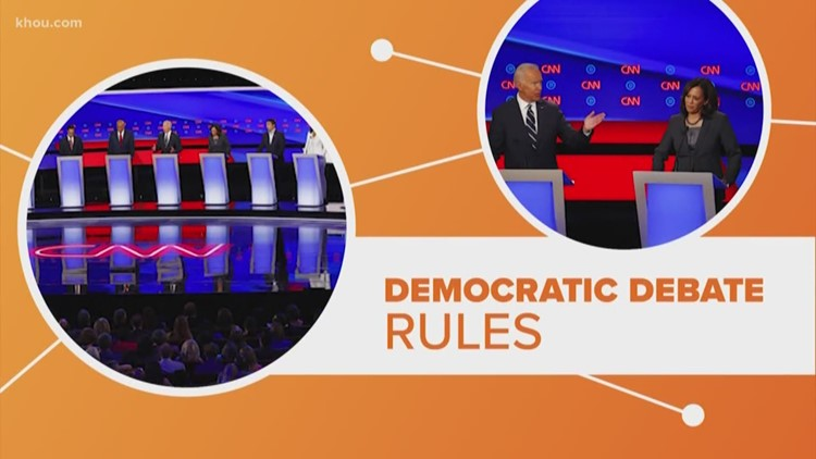 Connect the Dots:  Why is it harder to qualify for the Democratic presidential debate in Houston?