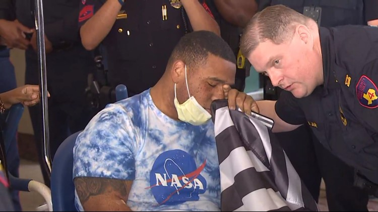 Harris County deputy constable Jaquim Barthen released from hospital