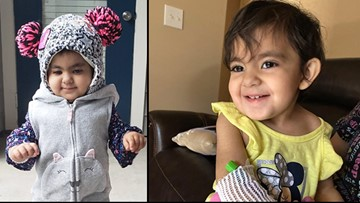 Woodlands toddler is in a fight for her life and you might be able to help