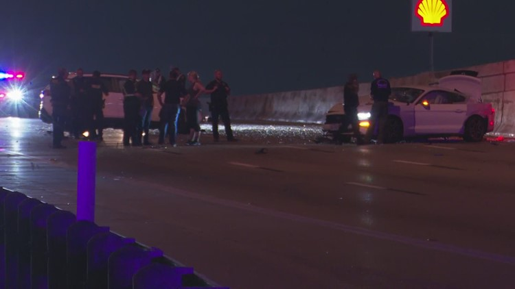 3 drivers likely facing charges after woman, hit killed by vehicle along North Freeway, DA's office says
