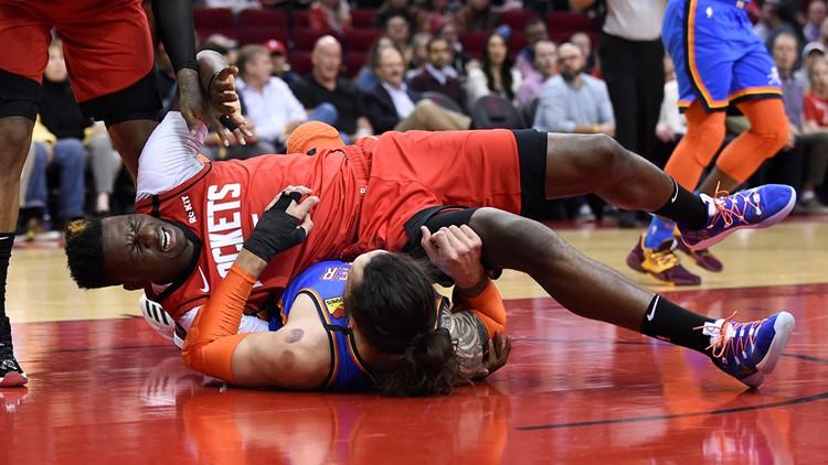 Struggling Rockets fall to Thunder