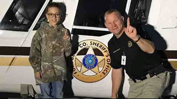 Fort Bend Co. Sheriff surprises 9-year-old with special ride, treats for his birthday