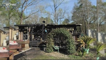 Dog saves family of 5 from New Caney house fire caused by