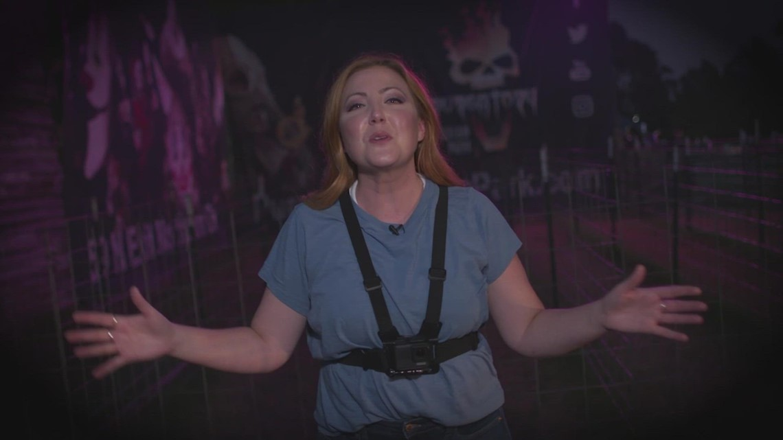 WATCH: Terrifying tour through Purgatory Scream Park