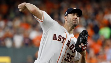 Astros fans to Justin Verlander: You can do it! #TakeItBack