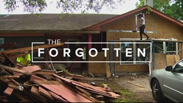 Can you help? Elderly Harvey victim's home remains unlivable