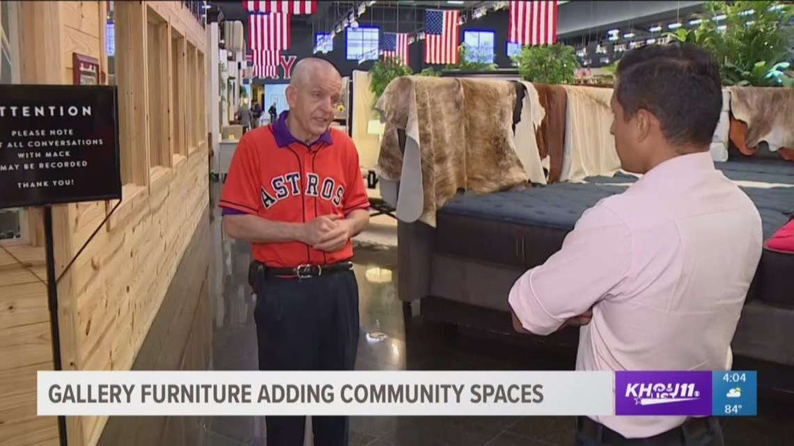 Gallery Furniture Locations To Be Turned Into Community Centers | Khou.com
