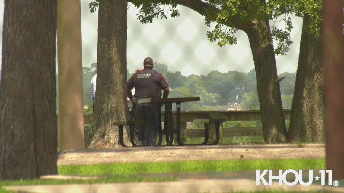 human bones found at channelview park