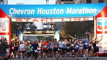 Street closures for the 2019 Houston Marathon