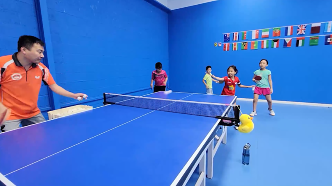 Katy table tennis academy starts 'em young in hopes of producing national champion