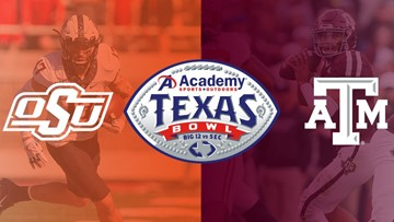 Texas A&M, Oklahoma State to meet in Texas Bowl at NRG Stadium