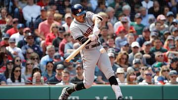 Chavis homers, Red Sox snap Astros' 10-game win streak