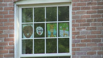 Neighborhoods organize scavenger hunts for children at home during coronavirus pandemic