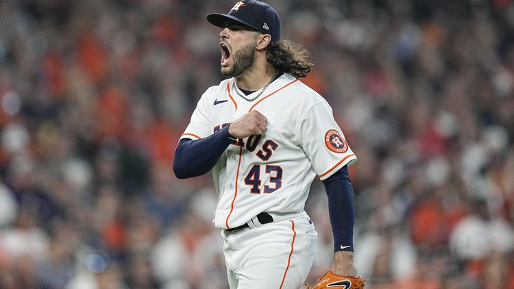 Lance McCullers not on the Astros' ALCS roster