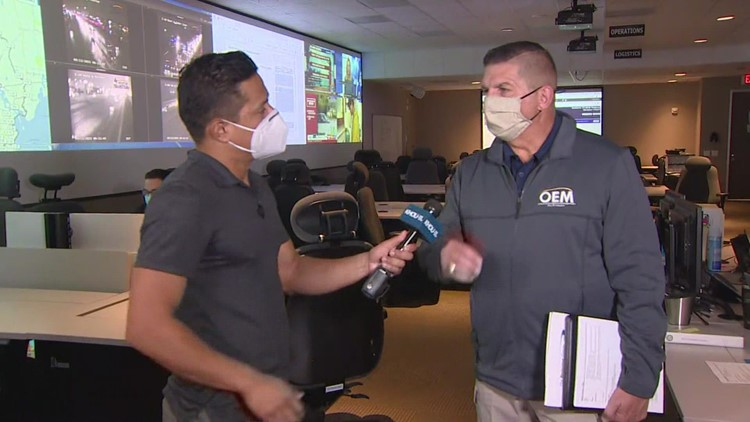 Houston activates its Office of Emergency Management ahead of Tropical Storm Nicholas