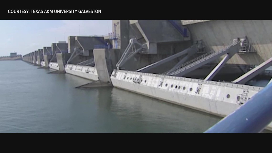 KHOU 11 Investigates: Proposed 'Ike Dike' gaining ground, but slow to build