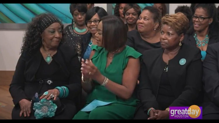 """""""Turquoise Table Talk"""" with the Triple D Ladies Society Club"""