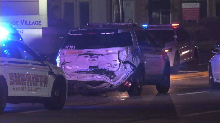 HCSO: Deputy hospitalized after being rear-ended by suspected intoxicated driver