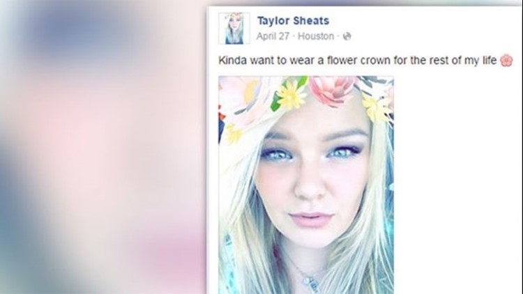 Taylor Sheats was planning to marry her longtime boyfriend on Monday, June 25, according to her grandmother.