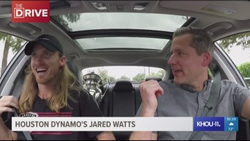 The Drive: Houston Dynamo defender Jared Watts fresh off the U.S. Open Cup championship