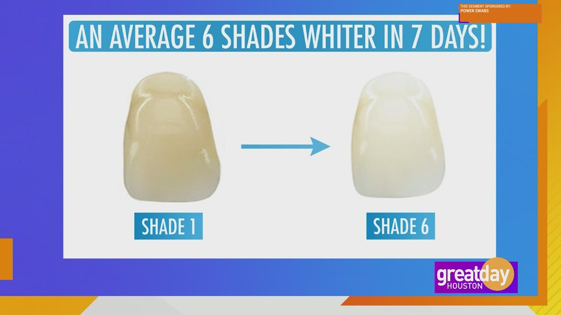 Whiter teeth in just 5 minutes