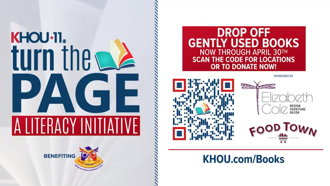 Help KHOU11 keep kids reading