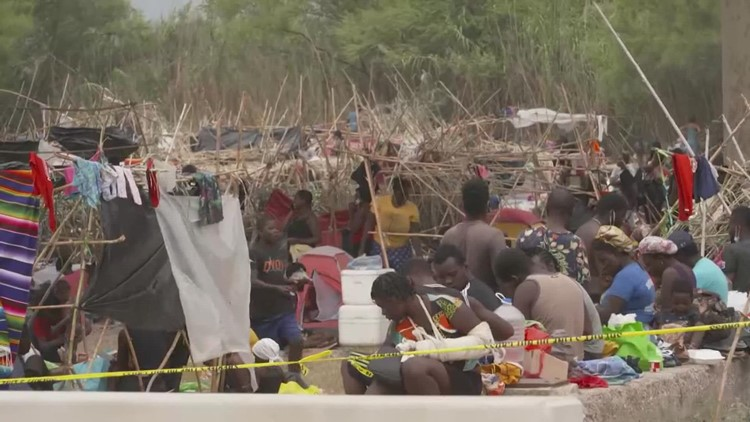 Haitian migrants from border camp moved to Houston, other cities, US officials confirm