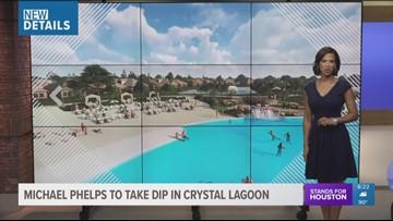 Crystal lagoon opening in Humble